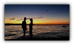 Murielle et Mathieu (jldum) Tags: love ibiza sunset sunrise coucherdesoleil dream