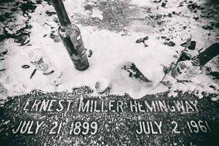 Ernest Miller Hemingway, July 2, 1961