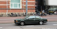 BMW (E24) 633 CSi 1978 (XBXG) Tags: gpvf52 bmw e24 633 csi 1978 bmwe24 coupé coupe green van baerlestraat amsterdam nederland holland netherlands paysbas vintage old classic german car auto automobile voiture ancienne allemande deutsch deutschland germany vehicle outdoor