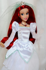 Ariel wedding 06 (Lindi Dragon) Tags: doll disney disneyprincess disneystore dolls ariel little mermaid 2017 wedding