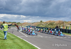 The start. (Paul Babington Photography) Tags: karting lydd clarkekarts racing rotax seniors