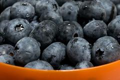 Staying Healthy- HMM (wendel68) Tags: orange blue macromondays stayinghealthy blueberries fruit berries summer orangeandblue