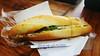 Breakfast roll (Roving I) Tags: eggrolls banhmai food breadrolls baguettes toothpicks woodentables streetfood style danang vietnam