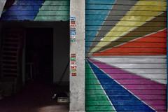 Mercato giorno notte (Andrea Boggia) Tags: colori chiuso aperto serranda rolling shutter light dark colors open close