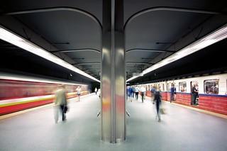 Ratusz Arsenal metrostation