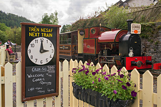 L2017_3946 - Corris Railway 7 at Corris Station