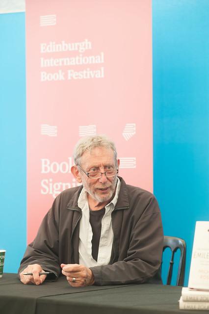 Michael Rosen book signing