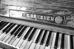 Made in Dresden. (Ian Ramsay Photographics) Tags: hillend newsouthwales australia dresden piano old except made