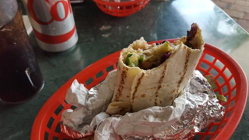 Important pre-Brewfest burrito
