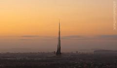 Cardiff (Wales) featuring the Burj Khalifa (LooksTidy) Tags: cardiff wales sunrise burjkhalifa