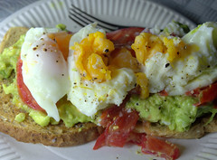 Smashed Avocado with Poached Egg on Toast (Tony Worrall) Tags: add tag ©2017tonyworrall images photos photograff things uk england food foodie grub eat eaten taste tasty cook cooked iatethis foodporn foodpictures picturesoffood dish dishes menu plate plated made ingrediants nice flavour foodophile x yummy make tasted meal nutritional freshtaste foodstuff cuisine nourishment nutriments provisions ration refreshment store sustenance fare foodstuffs meals snacks bites chow cookery diet eatable fodder smashed avocado poached egg toast