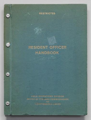 Resident Officer Handbook