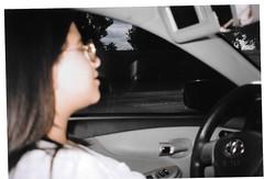 (pon__ton) Tags: flash film 120mm 35mm california losangeles sister candid