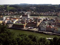 Passau (aniko e) Tags: passau travel summer view city rivers threerivers donau danube inn ilz duna