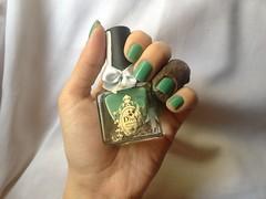 Daniela (Diva) (Daniela nailwear) Tags: daniela diva verde cremoso esmaltes mãofeita