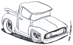 drawing car (ivanutrera) Tags: draw dibujo drawing dibujoenplumón plumón dibujoenmarcador marcador sketch sketching auto camioneta