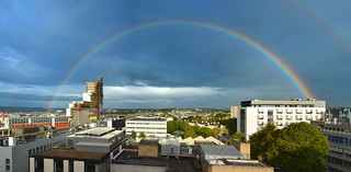 Rainbow over Plymouth