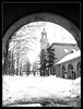 cold gate (harrypwt) Tags: harrypwt canons90 s90 city helsinki finland bw monochrome