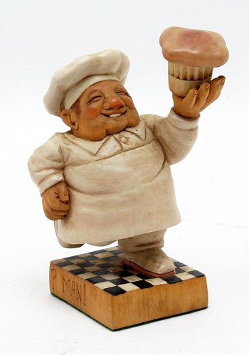 John Heatwole Muffin Man Carving ($560.00)