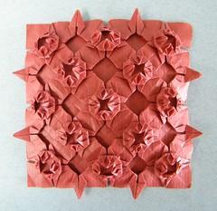 Lotus Tessellation - Meenakshi Mukerji (Rui.Roda) Tags: origami papiroflexia papierfalten lotus tessellation meenakshi mukerji