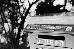Mailbox (superzookeeper) Tags: eos1 analog film ilford hk hongkong ilforddelta100 delta100 monochrome feingoshan mailbox postbox blackandwhite canoneos1 ef2470mmf28liiusm eos bnw street