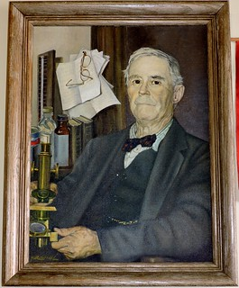 Portrait of Dr. McPherson, a local doctor