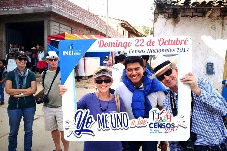Amashca - Carhuaz: difusión de los Censos Nacionales 2017 - 2