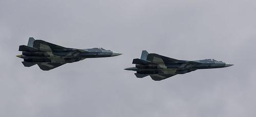Sukhoi T-50 (Su-57) - 2