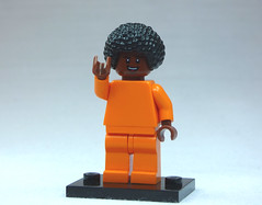 Brick Yourself Custom Lego Figure Orange Monk