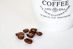 "Macro Mondays ""High Key"" (eleni m (busy remodeling house)) Tags: macromondays highkey hmm macro indoor coffee mug beans"