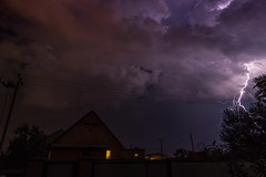 Lightning Strike (David__Potter) Tags: lightning lightningstrike weather storm slowexposure abakan russia canon6d thunderstorm