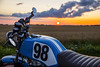_MG_0461 (oliverkrysell) Tags: motorcycle motorbike motorcycles cb honda cb400n 400cc trackbike track racebike machine racer sunset golderhoure magichoure canon canonusa 6dmark2 6d fullframe
