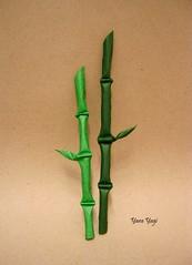 Bamboo (Yara Yagi) Tags: origami paper papel bambu bamboo