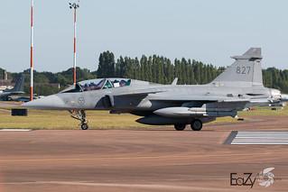 39827 Swedish Air Force Saab JAS 39D Gripen