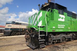 BN 5383 & BN-3 Union IL