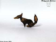 Origami Zorro - Barth Dunkan. (Magic Fingaz) Tags: barthdunkan cáo fox fucks liška origami renard róka rubah tilki volpe zorro αλεπού лиса лисица лисиця үнэг 여우 狐 狐狸