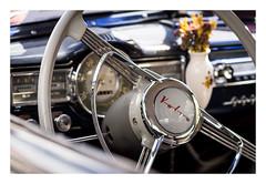 classic car with flowers (08dreizehn) Tags: 08dreizehn 444 auto badenwuerttemberg badenwürttemberg deutschland europa europe fahrzeug olympusm45mmf18 olympusomdem10markii oldtimer oldtimertag reutlingen thomashassel volvo allemagne car classiccar germany nullachtdreizehn voiture de