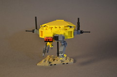 Hiigaran Resource Collector by Nick (Made Real) (Paulygons) Tags: hiigaran resource collector machine lego mini homeworld game 3d ship robot moc toy real digital designer studio space science fiction video