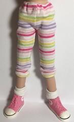 I love My Pastel Stripes...Leggings For Blythe...