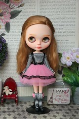 Outfit with tutu skirt