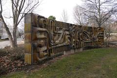 (Kunst am Bau / DDR) Tags: gera thüringen