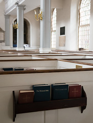 Hymnals in the Old North Church (tsmyer1) Tags: boston hymnal episcopal freedomtrail 1722 oldnorthchurch massachusetts unitedstates us