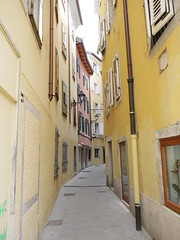 The streets of Trieste