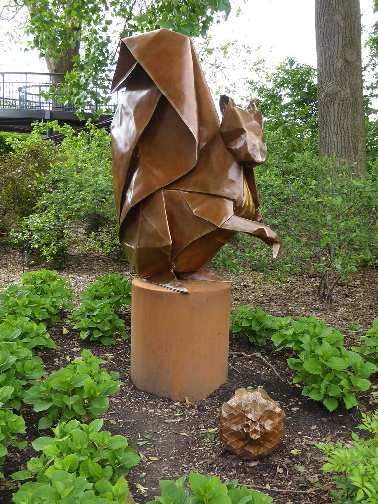 The Worlds Best Photos Of Origami And Plants Flickr Hive Mind Nut Spring Lisle Il Morton Arboretum In Garden Squirrel Seed Sower