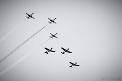 Air show (maksudulpunom) Tags: air airshow aircraft fighter freedom independence bangladesh dhaka canon700d 1855mm sky blackandwhite black planes dream wings beauty
