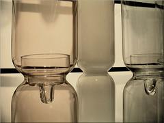 bottles and jars (Bernergieu) Tags: bottles jars iittala finland glass helsinki 7dwf jarsbottles crazytuesdaytheme design art tuesdaycrazytuesdaytheme
