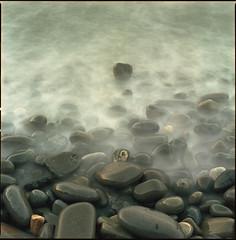 time or tide (steve-jack) Tags: hasselblad 501cm 80mm cb kodak ektar wales pembrokeshire medium format film epson v500 beach
