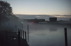 First Light at Reedham (powern56) Tags: thewherrylines reedham norfolk swingbridge railwaybridge railway train class170 dmu dieselmultipleunit 2j61 abelliogreateranglia riveryare