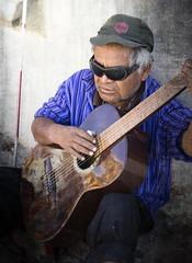 Guitarist, Oaxaca, Mexico (klauslang99) Tags: streetphotography klauslang guitarist oaxaca man person portrait instrument