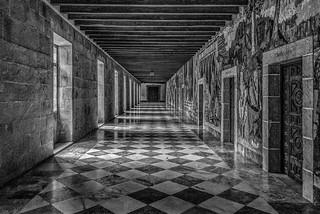 Galería del monasterio de Samos
